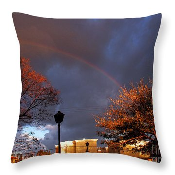 Now That's A Good Morning 02 Throw Pillow by Arik Baltinester