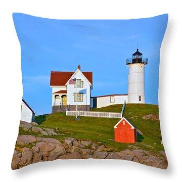 Nuble Light Throw Pillow