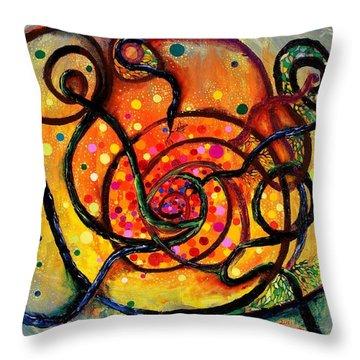Nuclear Fusion Throw Pillow