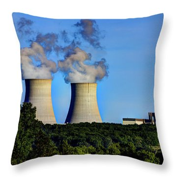 Nuclear Hdr1 Throw Pillow