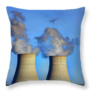 Nuclear Hdr2 Throw Pillow