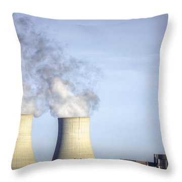 Nuclear Hdr3 Throw Pillow