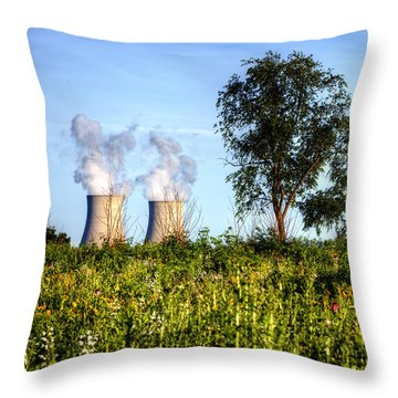 Nuclear Hdr4 Throw Pillow