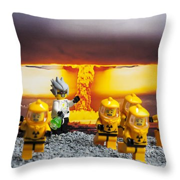 Nuclear Throw Pillow