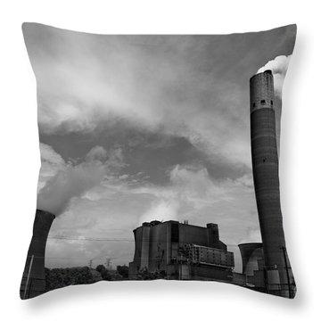 Nucleardynamicbw-7 Throw Pillow