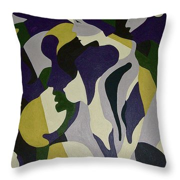 Nude9 Throw Pillow