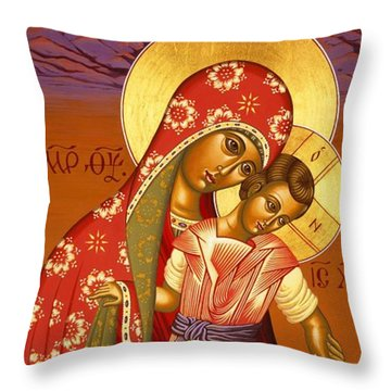 Nuestra Senora De Las Sandias 008 Throw Pillow