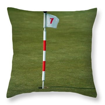 Number 1 Throw Pillow by Bob Sample