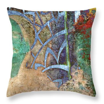 Number 9 Throw Pillow by Candee Lucas