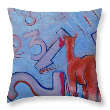 Numbers? Throw Pillow