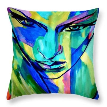 Numinous Emotions Throw Pillow