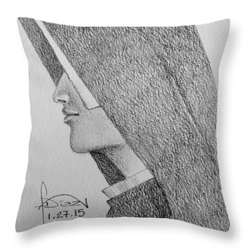 Nun IIi Throw Pillow