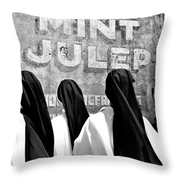Nun Of That Throw Pillow by Kathleen K Parker