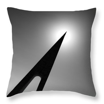 Nungesser And Coli Monument Throw Pillow