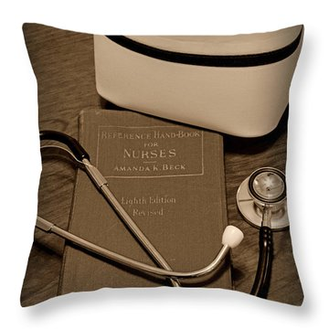 Nurse - The Care Giver Throw Pillow
