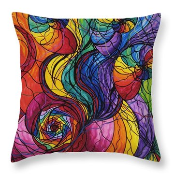 Nurture Throw Pillow
