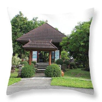 Nusa Dua Throw Pillow by Cyril Maza