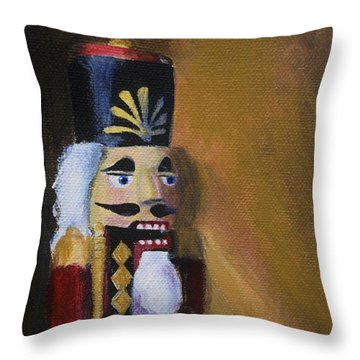 Nutcracker II Throw Pillow