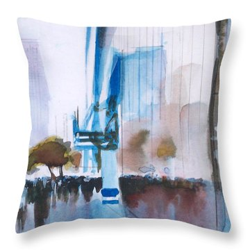 Nyny Throw Pillow