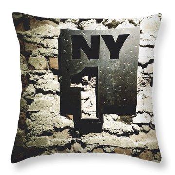 NY1 Throw Pillow