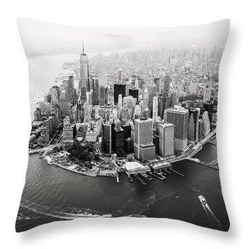 Aerial Throw Pillows
