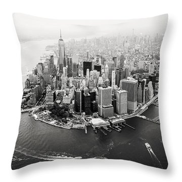 Aerial Throw Pillows