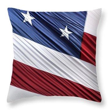 O Beautiful Throw Pillow