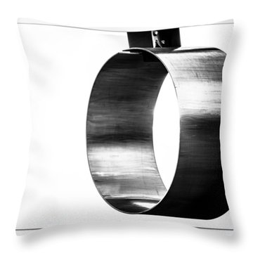 Throw Pillow featuring the photograph O by Darryl Dalton