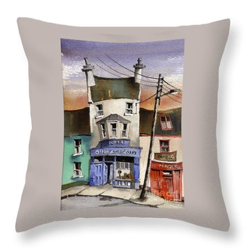 O Heagrain Pub Viewed 115737 Times Throw Pillow