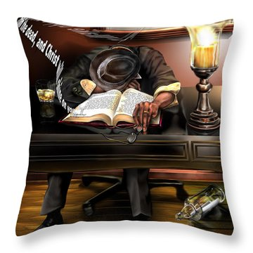 O Sleeper Throw Pillow