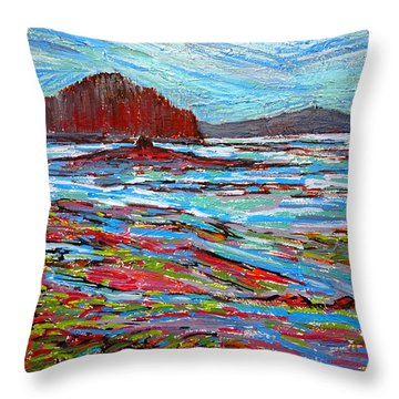 Oak Bay Nb Throw Pillow