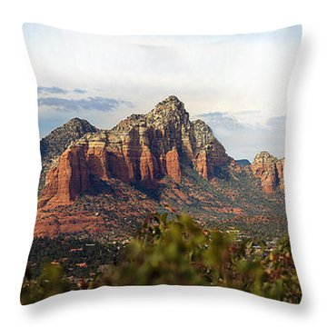 Oak Creek Canyon Sedona Pan Throw Pillow