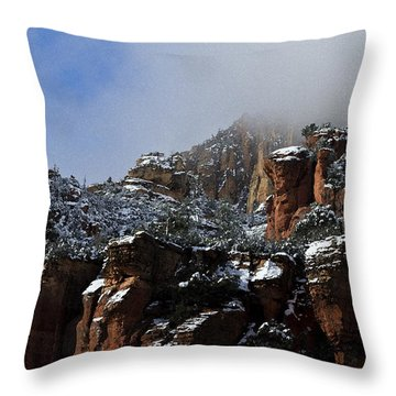 Throw Pillow featuring the photograph Oak Creek Vista Wc 9375 by Tom Kelly