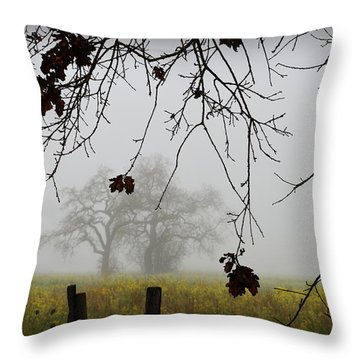 Oak Dreams Throw Pillow