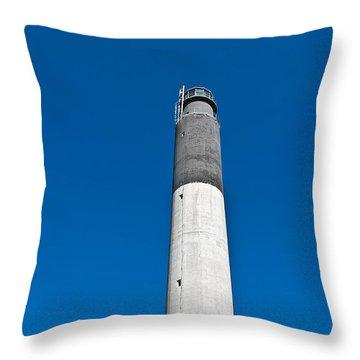 Oak Island Light Throw Pillow