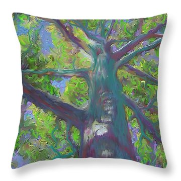 Oak Tree 1 Throw Pillow