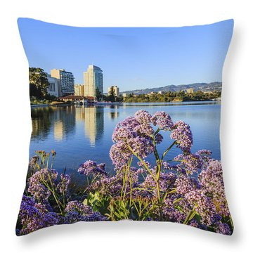 Oakland San Francisco Throw Pillow