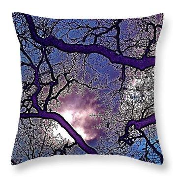 Oaks 11 Throw Pillow by Pamela Cooper