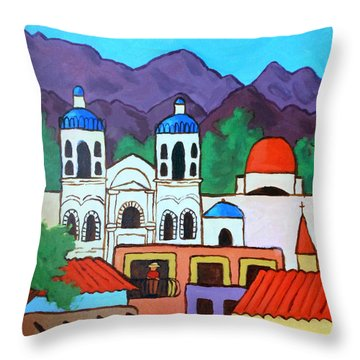 Oaxaca Throw Pillow by Whitney Morton