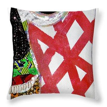 Obaoya Throw Pillow
