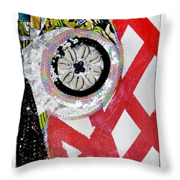 Obaoya Throw Pillow
