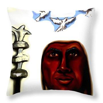Orishas Throw Pillows