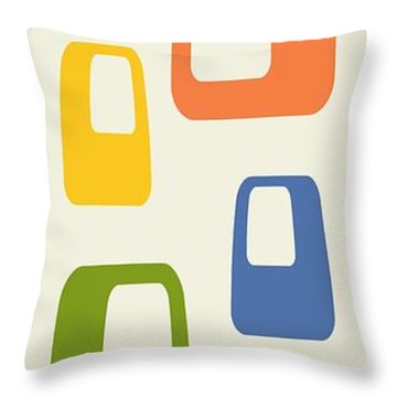Oblongs Throw Pillow