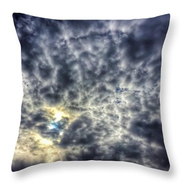 Obscured Throw Pillow