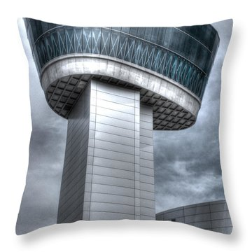 Observation Tower Throw Pillow