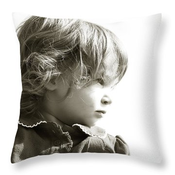 Observations Of A Child Throw Pillow