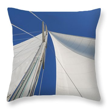 Obsession Sails 1 Throw Pillow