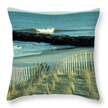 Oc Surf Rd Throw Pillow