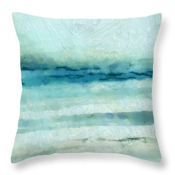 Ocean 7 Throw Pillow