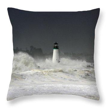 Ocean A Fury Throw Pillow
